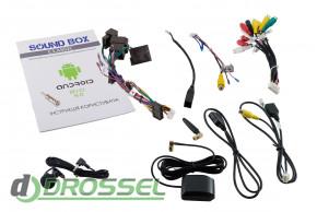 Штатная магнитола Sound Box SB-9230-1G-4