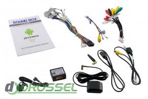 Штатная магнитола Sound Box SB-9237-2G-4