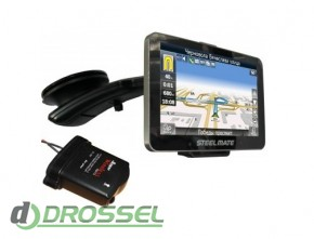 GPS-навигатор с парктроником и камерой заднего вида, TPMS, радар
