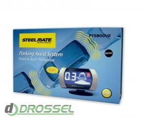Парктроник Steelmate PTS800V2 для заднего и переднего бампера_3