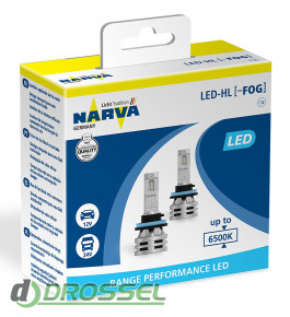 Narva Range Performance LED 18036 (H8 / H11 / H16)