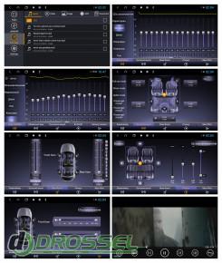 Штатная магнитола Sound Box SBM-9025 DSP-6