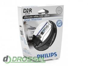 Philips Xenon WhiteVision D2R 85126WHVS1
