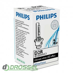 Philips Xenon WhiteVision D2R 85126WHVC1