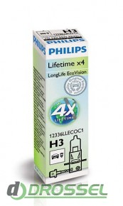 Лампа галогенная Philips LongLife EcoVision PS 12336LLECOC1 (H3)