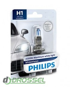 Лампа галогенная Philips WhiteVision PS 12258WHVB1 (H1)_3